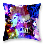 Curse Of The Sea Witch Throw Pillow