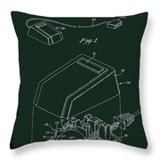 Cursor Control Device Patent Drawing 1bj Throw Pillow