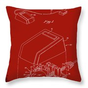 Cursor Control Device Patent Drawing 1n Throw Pillow