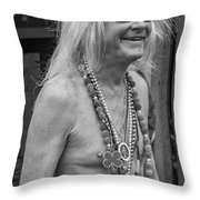 Curt 2 Bw Throw Pillow