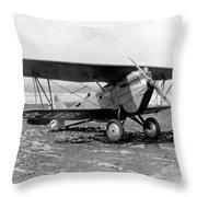 Curtiss P-1 Hawk,1925 Throw Pillow