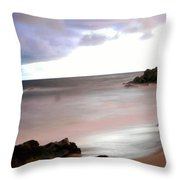 Curve Of The Horizon Throw Pillow