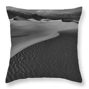 Curves Into The Night Throw Pillow