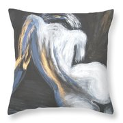 Curves18 Throw Pillow