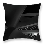 Curvilinear Abstract Throw Pillow