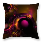 Curvy Baby Throw Pillow