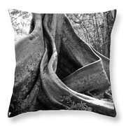 Curvy Old Lady Throw Pillow