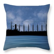 Cus John Adams 1918 V1 Throw Pillow