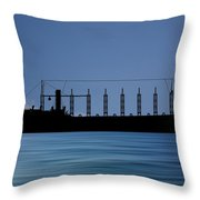 Cus John Adams 1918 V4 Throw Pillow