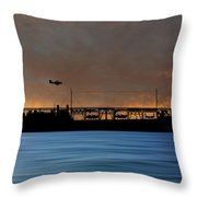 Cus John Adams 1921 V3 Throw Pillow