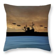 Cus Woodrow Wilson 1944 V2 Throw Pillow