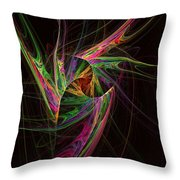 Custodian Of Desires Throw Pillow