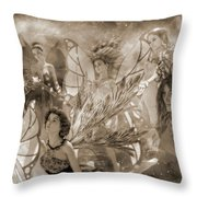 Custom 0566 One For Everyone Throw Pillow