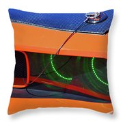 Custom 2009 Dodge Challenger Throw Pillow