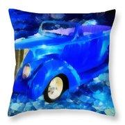 Custom Car  Throw Pillow