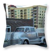 Custom Chevy Asbury Park Nj Throw Pillow