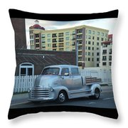 Custom Chevy Asbury Park Nj Throw Pillow