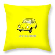 Custom Color Subaru 360 Throw Pillow
