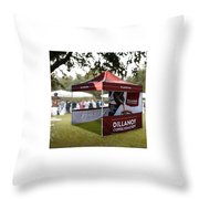Custom Event Tents For Branding Throw Pillow