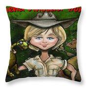 Custom Gift Caricature Throw Pillow