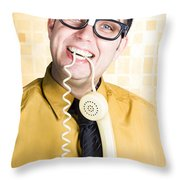 Customer Service Feedback Throw Pillow