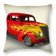 Customized Ford Throw Pillow