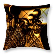 Cut Glass Throw Pillow