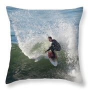 Cutback Splash Throw Pillow