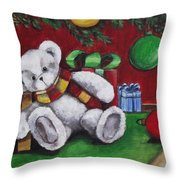 Cute And Festive Throw Pillow
