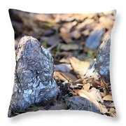 Cute Cypress Knees Throw Pillow
