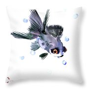 Cute Fish Throw Pillow