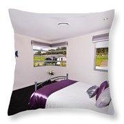 Cute Girl's Bedroom Throw Pillow
