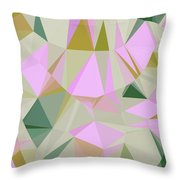 Cute Polygonal Throw Pillow