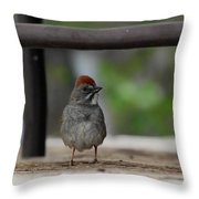 Cute Redhead Throw Pillow