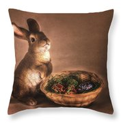 Cute_and_cuddly Throw Pillow