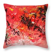 Cutting Edge Throw Pillow