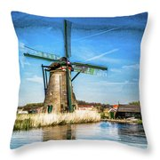 Cutting Through The Wind Throw Pillow
