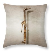 Cutting Torch Right Face Throw Pillow