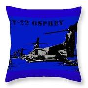 Cv-22 Osprey  Throw Pillow