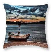 Cyanotype Throw Pillow