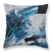 Cyber Control Throw Pillow