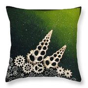 Cyber Soil Throw Pillow