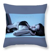 Cybera N7 Throw Pillow