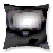 Cyberstructure 10 Throw Pillow by Eikoni Images