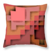 Cyberstructure 12 Throw Pillow by Eikoni Images