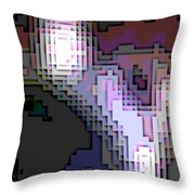 Cyberstructure 2 Throw Pillow by Eikoni Images