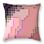Cyberstructure 4 Throw Pillow by Eikoni Images
