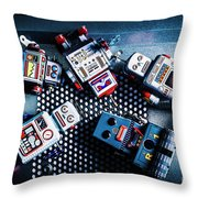 Cyborg Technology Reset Throw Pillow