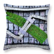 Cycle Recycle Throw Pillow