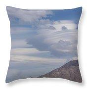 Cyclone Cloud Crowd Throw Pillow